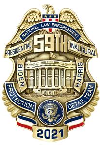 2021 Inaugural Badge